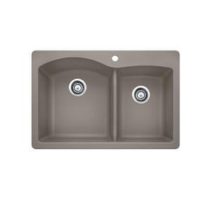 Diamond Silgranit Double Bowl Kitchen Sink