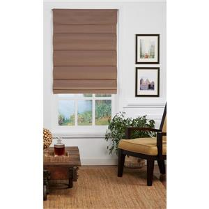 "allen + roth Blackout Roman Shade - 24"" X 72"" - Desert Tan"