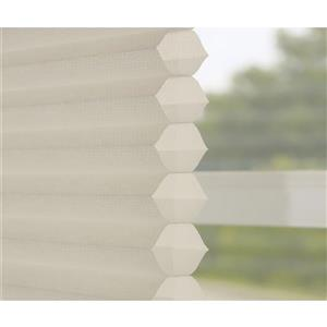 "allen + roth Light Filtering Cellular Shade - 59.5"" X 64"" - Cream"