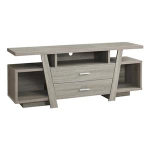 TV Stand with 2 Storage Drawers