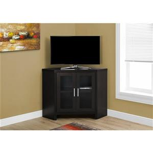 Monarch TV Stand - 42-in x 30-in - Composite - Cappuccino