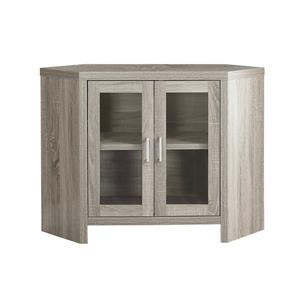 Monarch TV Stand - 42-in x 30-in - Composite - Taupe