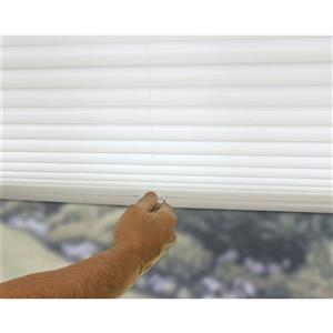 """allen + roth Light Filtering Shade - 20"""" x 72"""" - Polyester - White"""
