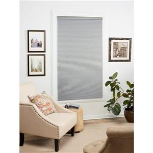 """allen + roth Blackout Cellular Shade - 21.5"""" x 72"""" - Polyester - Gray"""