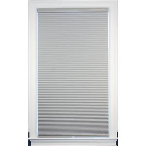 """allen + roth Blackout Cellular Shade - 57.5"""" x 64"""" - Polyester - Gray"""