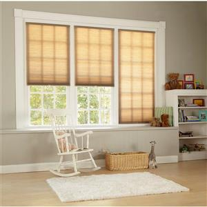 "allen + roth Light Filtering Cellular Shade - 59"" X 72"" - Linen"