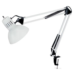 Dainolite Signature Desk Lamp - 36-in - White
