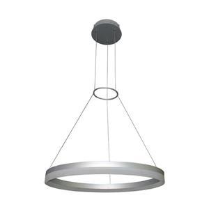 Vonn Lighting Tania Satin Nickel Modern Oval Integrated LED -18-in