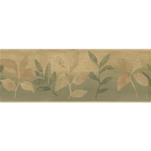 Norwall Kids Abstract Branch Wallpaper Border - Green