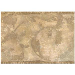 Norwall Faux Distressed Abstract Wallpaper - Brown