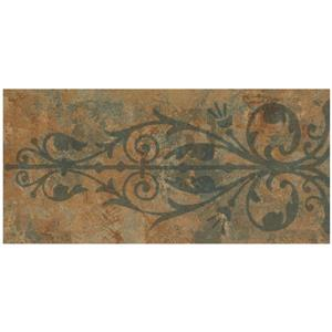 Norwall Trellis Distressed Wallpaper - Indigo/Blue