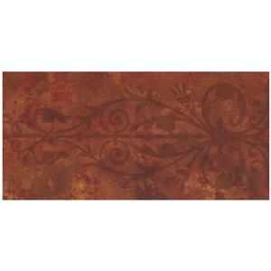 Norwall Trellis Wallpaper Border - Maroon