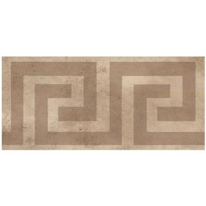 Norwall Abstract Square and Spiral Wallpaper - Beige/Brown