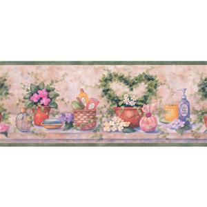 Chesapeake Vintage Perfume and Flowers Wallpaper