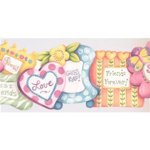 Retro Art Kids Girls Rule Princess Wallpaper