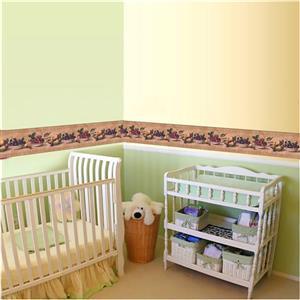 York Wallcoverings Fruit Sepia Wallpaper - Tan