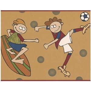Norwall Kids Boys Sports Wallpaper