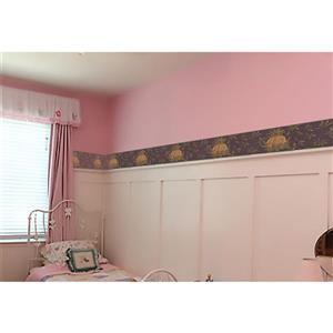 York Wallcoverings Prepasted  Yellow Pineapple Wallpaper