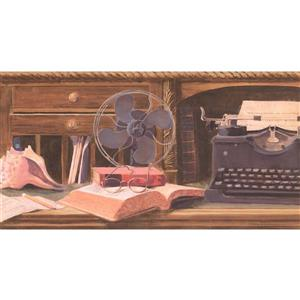 York Wallcoverings Prepasted Vintage Typewriter Wallpaper