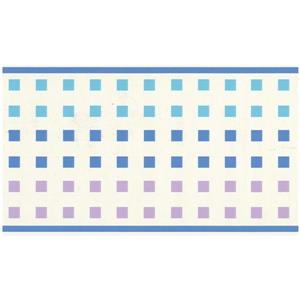Norwall Prepasted Tiny Squares Wallpaper - Blue/Purple