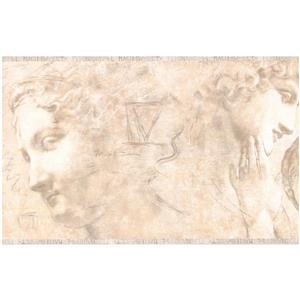 York Wallcoverings Prepasted Ancient Rome Sculpture Wallpaper