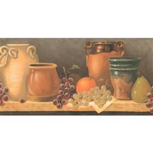 York Wallcoverings Prepasted Kitchen Table and Jug Wallpaper