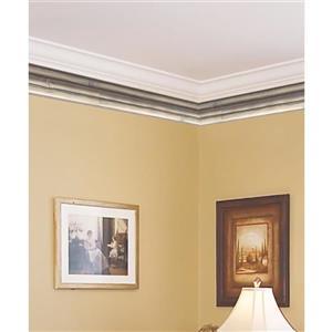York Wallcoverings Prepasted Bamboo Wallpaper - Beige/Grey