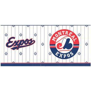 Retro Art Prepasted Montreal Expos Baseball Wallpaper