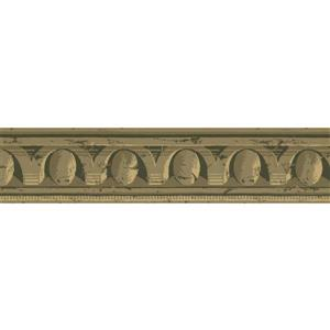 York Wallcoverings Prepasted Victorian Distressed Hazelwood Wallpaper