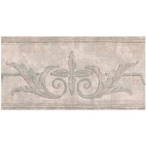 York Wallcoverings Prepasted Damask Baroque Wallpaper - Beige