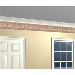 York Wallcoverings Prepasted Victorian Faux Molding Wallpaper
