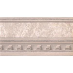 York Wallcoverings Prepasted Victorian Faux Molding Wallpaper - Beige