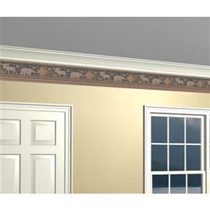 Retro Art Prepasted Faux Ornamental Carpet Wallpaper