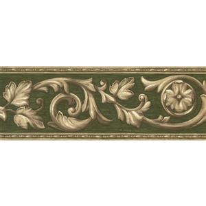 Norwall Vintage Abstract Damask Wallpaper - Beige