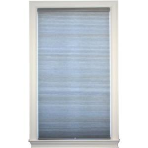 """allen + roth Double Cell Shade - 25"""" x 72"""" - Polyester - Gray"""