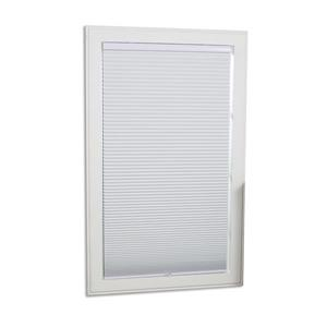 """allen + roth Blackout Cellular Shade - 57.5"""" x 84"""" - Polyester - White"""
