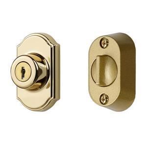 Ideal Security Keyed Deadbolt - Brass E-coat