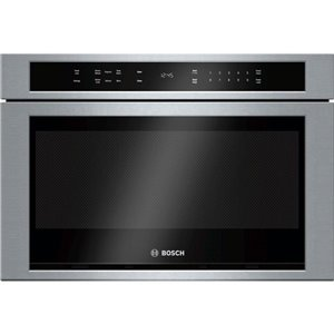 Bosch 24-in 1.2-cu ft Microwave Drawer (Stainless Steel)
