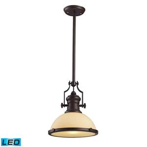 ELK Lighting Chadwick Pendant Light - 1-LED Light - Oiled Bronze