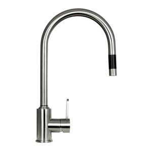 """BOANN Flor Kitchen Faucet - 16.7"""" - Stainless Steel"""