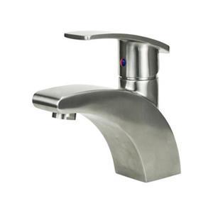 "BOANN Eva Bathroom Faucet - 6.3"" - Stainless Steel"