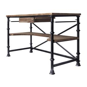 "Armen Living Theo Desk - 60.5"" x 30"" - Wood - Gray"