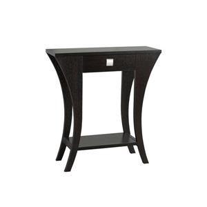 """Brassex Console Table - 11.5"""" x 33.5"""" - Wood - Dark Cherry"""