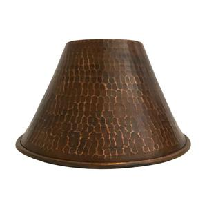 Premier Copper Products Cone Pendant Light Shade, 7-in, Copper