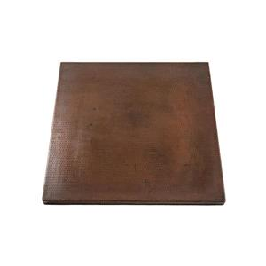 Premier Copper Products Square Copper Table Top - 30-in