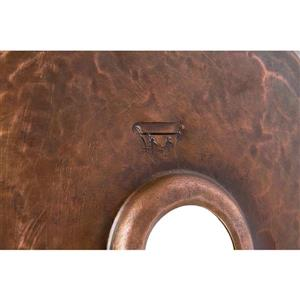 Premier Copper Products Copper Pan Sink with Faucet and Drain