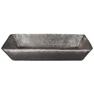 Premier Copper Products Rectangular Sink - 20-in - Nickel