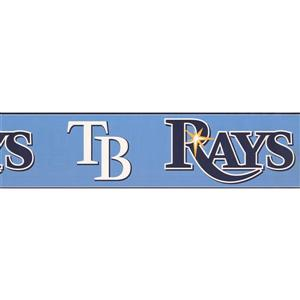 York Wallcoverings Tampa Bay Rays MLB Baseball Wallpaper Border