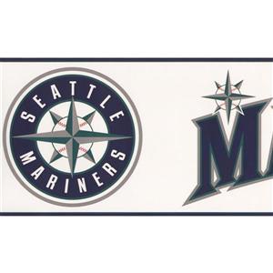 York Wallcoverings Seattle Mariners MLB Baseball Wallpaper