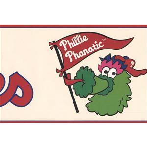 York Wallcoverings Philadelphia Phillies MLB Baseball Wallpaper
